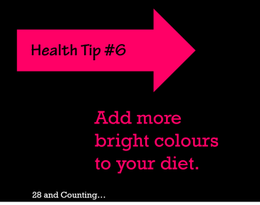 bright colours; diet